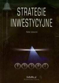 Strategie inwestycyjne - Rafał Jóźwicki - okładka książki