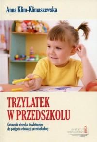 Trzylatek w przedszkolu - okładka książki