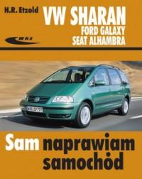 Volkswagen Sharan, Ford Galaxy, Seat Alhambra. Seria: Sam naprawiam samochód - okładka książki