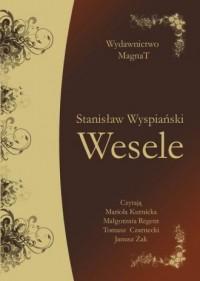 Wesele. Książka audio (CD mp3) - pudełko audiobooku