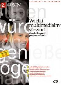 Wielki multimedialny słownik niemiecko-polski, - okładka książki