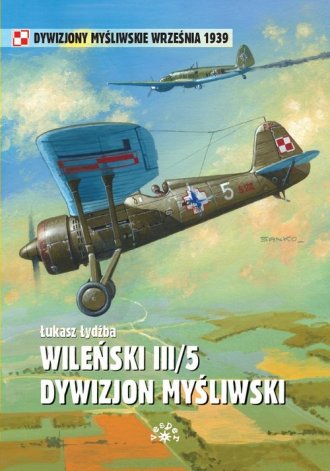 Wileński III 5. Dywizjon myśliwski - okładka książki