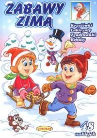Zabawy zimą - Wydawnictwo Pasja - okładka książki