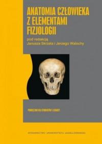 Anatomia człowieka z elementami - okładka książki