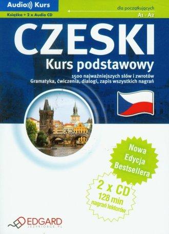 Czeski. Kurs podstawowy (+ CD) - okładka podręcznika