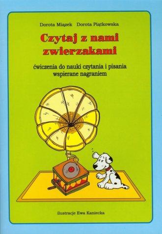 Czytaj z nami zwierzakami (+ CD) - okładka książki
