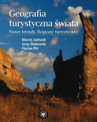 Geografia turystyczna świata - okładka książki