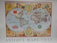 Kalendarz Antique Maps 2011 - okładka książki
