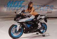Kalendarz Hot Motorbikes 2011 - okładka książki