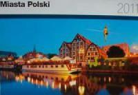Kalendarz Miasta Polski 2011 - okładka książki