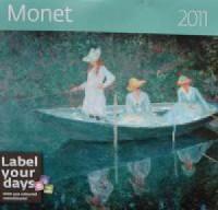 Kalendarz Monet 2011 - okładka książki