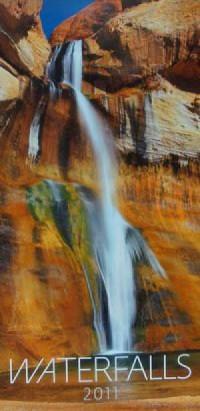 Kalendarz Waterfalls 2011 - okładka książki