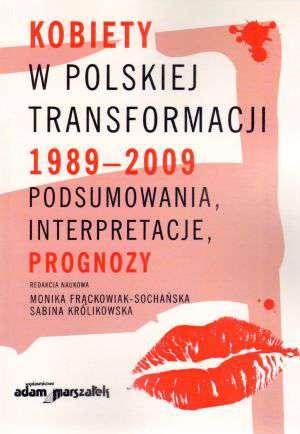 Kobiety w polskiej transformacji - okładka książki