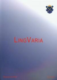 Lingvaria nr 2 (10) 2010 - okładka książki
