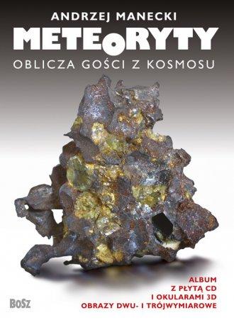Meteoryty - oblicza gości z kosmosu - okładka książki
