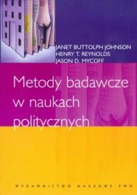 Metody badawcze w naukach politycznych - okładka książki