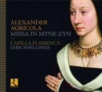 Missa In myne zyn (CD) - okładka płyty