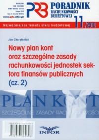 Nowy plan kont oraz szczególne zasady rachunkowości jednostek sektora finansów publicznych cz. 2 - okładka książki