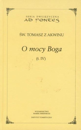 O mocy Boga. Tom 4. Seria dwujęzyczna - okładka książki