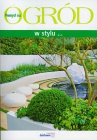Ogród w stylu - okładka książki