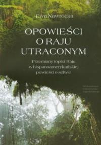 Opowieści o Raju utraconym - Ewa - okładka książki