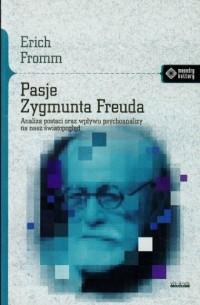 Pasje Zygmunta Freuda - okładka książki