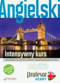 Profesor Henry. Angielski. Intensywny kurs (CD) - okładka książki