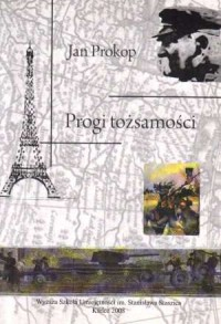 Progi tożsamości - okładka książki