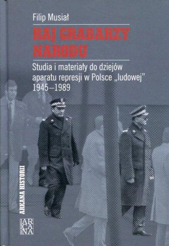 Raj grabarzy narodu - okładka książki
