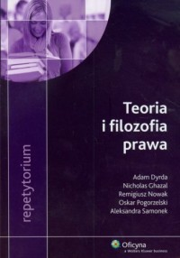 Teoria i filozofia prawa. Repetytorium - okładka książki