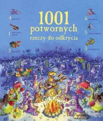 1001 potwornych rzeczy do odkrycia - okładka książki