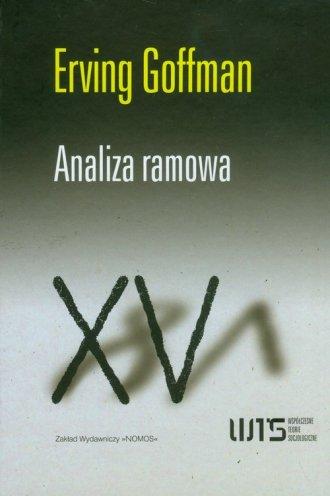 Analiza ramowa - okładka książki