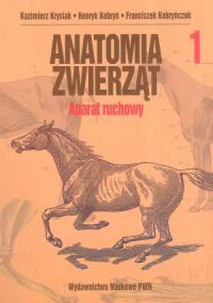 Anatomia zwierząt. Tom 1. Aparat - okładka książki