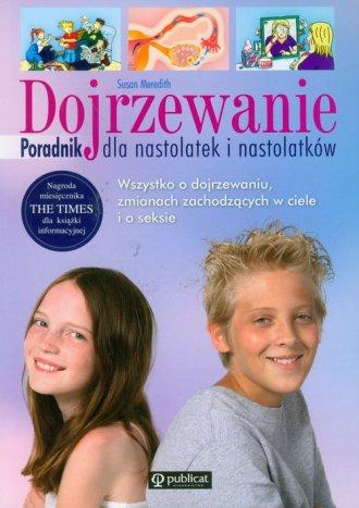 Dojrzewanie poradnik dla nastolatek - okładka książki