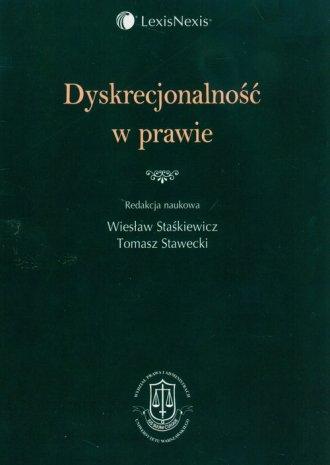 Dyskrecjonalność w prawie - okładka książki