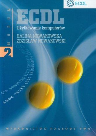 ECDL. Moduł 2. Użytkowanie komputerów - okładka książki