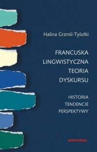 Francuska lingwistyczna teoria - okładka podręcznika