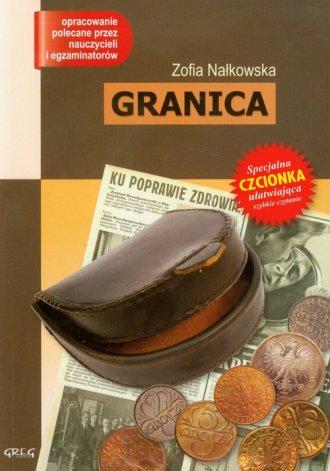 Granica - okładka książki