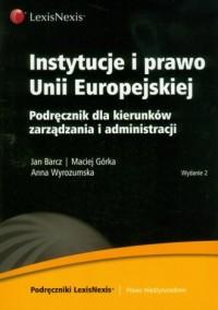 Instytucje i prawo Unii Europejskiej - okładka książki