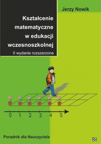 Kształcenie matematyczne w edukacji - okładka podręcznika