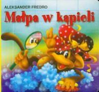 Małpa w kąpieli - okładka książki