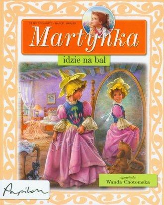 Martynka idzie na bal - okładka książki