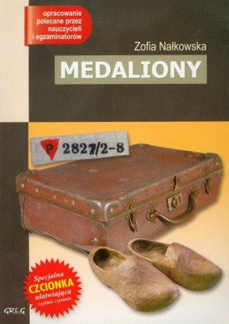Medaliony - okładka książki