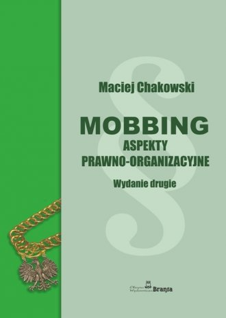 Mobbing - okładka książki