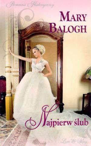 Najpierw ślub - okładka książki