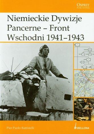 Niemieckie Dywizje Pancerne. Front - okładka książki