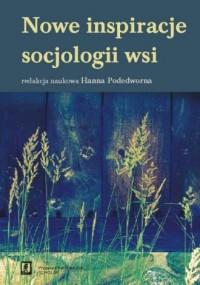 Nowe inspiracje socjologii wsi - okładka książki