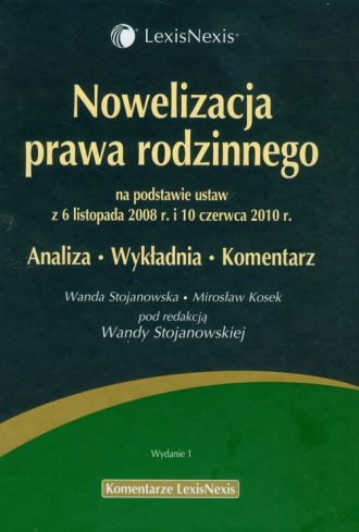 Nowelizacja prawa rodzinnego na - okładka książki