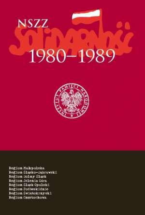 NSZZ Solidarność 1980-1989. Tom - okładka książki
