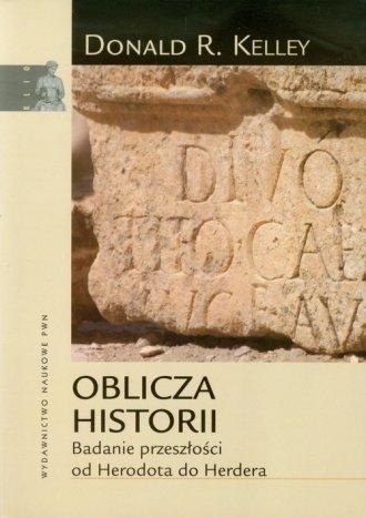 Oblicza historii. Badanie przeszłości - okładka książki